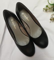CCC crne cipele sa manjom stiklom 37/38