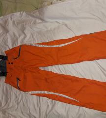 Ski pantalone narandzaste