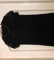 Kratka crna haljina NENOSENA