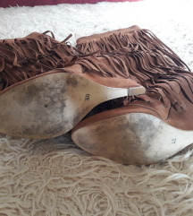 Braon cizme sa resama