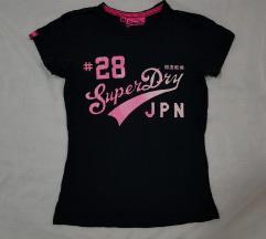 Superdry original zenska majica crna