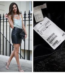 DANAS SAMO 400 H&M nova kozna suknja /etiketa✿**✿