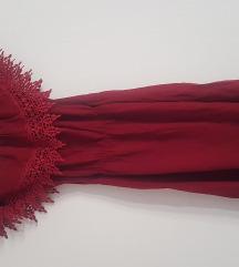Bordo-crvena haljina univerzalna