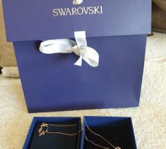 Swarovski prelepa ogrlica nova AKCIJA 6000