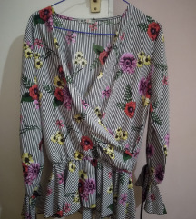 Cvetna bluza na pruge
