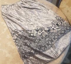 Plisana suknja nova
