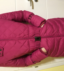 Perjana zimska jakna, roze boje