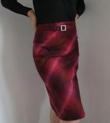 H&M karirana suknja 34 vel