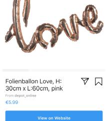 Balon LOVE..