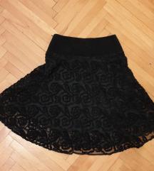 Hallo Darling crna suknja malo ispod kolena