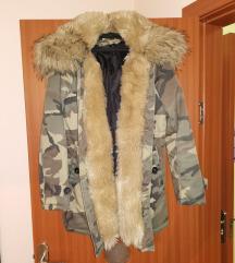 Zimska krznena jakna