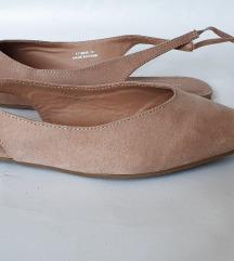 NEW LOOK krem cipele sa otvorenom petom,br.42,Nove