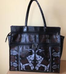 Velika zenska KOZNA torba