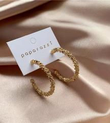 💜Prelepe minđuše u zlatnoj boji