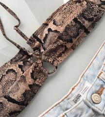 H&M ❤️ xs i s vel ❤️ bikini snake gornji