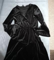 H&M plišana haljina