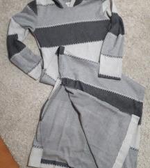 Haljina u sivim nijansama