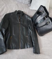 Mona torba i kožna jakna