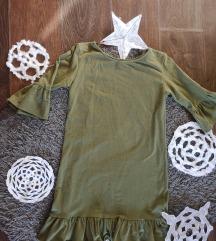 Pamucna haljina sa karnerima