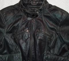 Zara prava kozna xl jakna