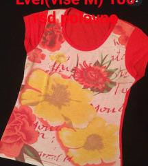Majica sa cvetnim motivom