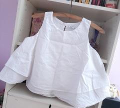 Bela letnja bluza majica