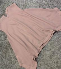 Asimetricna puderasta bluza