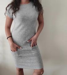 BENETTON najlepša haljina fina vuna i angora NOVO
