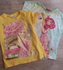 Kratak rukav majice za devojcice 110
