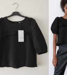 ZARA ruffled TOP NOVO