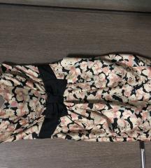 H&M cvetna top haljina