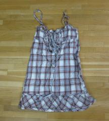 472. Pull & bear letnja haljina, karirana