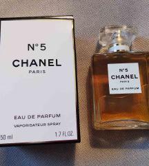 Chanel No 5 - parfem 50ml, NOVO/ORIGINAL