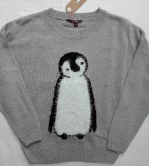 Tally Weijl dzemper sa pingvinom NOVO sa etiketom