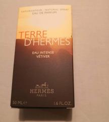 Hermes Paris 50ml  - Terre D'Hermes, NOVO