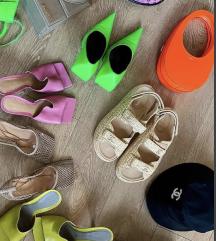 Chanel krem sandale