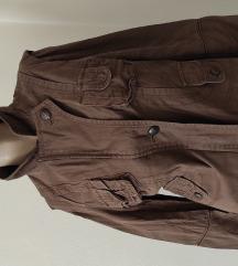 SNIŽENO prolećna braon jakna