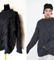 Zara masivan oversized dzemper