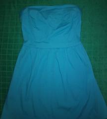 AMISU plava haljina XS