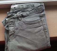 Springfield maslinasto zelene skinny pantalone