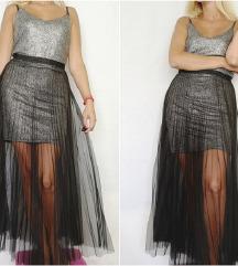 KOTON PARTY plisse haljina NOVO