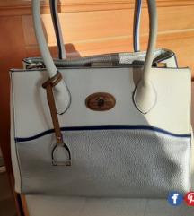 H.Miler bela kozna torba, NOVO, samo 3500