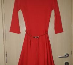 Nova Blondy crvena haljina