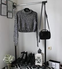 Crop top džemper/rolka H&M