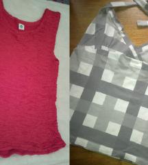 Dve majice i suknjica gratis M