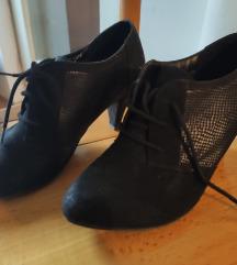 Udobne niske cipele od prevrnute koze,41