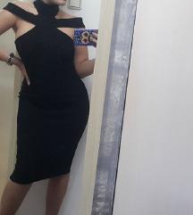 Crna haljina, do kolena