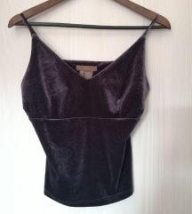 Zara majica Vintage Velvet u stilu 60tih