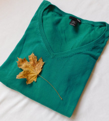 H&M zeleni džemper