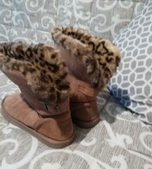 NEXT like UGG cizme sa leopard krznom